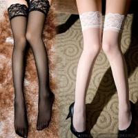 蕾丝花边性感镂空 性感美腿蕾丝长筒丝袜 情趣丝袜诱惑 均码