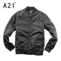 以纯A21冬装男棒球服修身棉衣外套男冬季新款长袖青年棉服潮流休闲