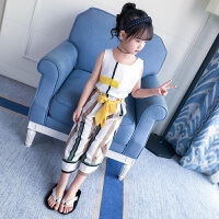 女童夏装新款套装韩版儿童装夏季时髦两件套潮