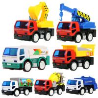 儿童玩具汽车惯性工程车系列小汽车挖土机玩具车套装小推车