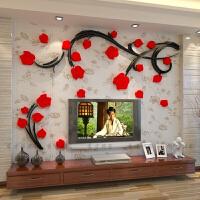 3d水晶立体墙贴电视背景墙书房客厅卧室沙发背景墙 特