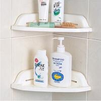 吸墙三角架浴室角置物架强力厨房吸盘墙角架卫生间浴室吸盘置物架单个