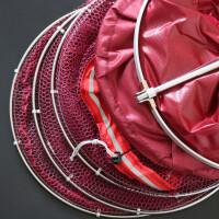 鱼护渔网鱼篓带包鱼护渔具垂钓用品涂胶鱼护防挂