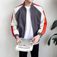 新款秋季外套男韩版潮流学生春秋棒球服男装宽松百搭运动夹克