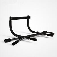 门上单双杠 健身器材引体向上门框家用室内单杠训练器 黑色