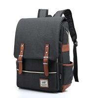 【特惠】2019优选戴尔苹果华硕笔记本电脑包双肩15.6寸14寸13寸男女书包背包双肩包