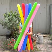 360单色长条魔术气球长气发造型魔法加粗路标生日装饰布置