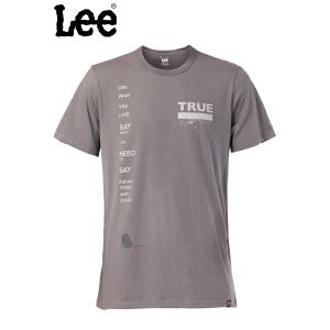 Lee 【断码】男士短袖T恤 舒适棉质 透气清爽T恤 L15145866L90