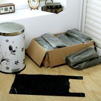 【满减】欧润哲 20L厚制垃圾桶清洁收纳袋子套装 大号黑色背心式垃圾袋