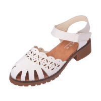 O'SHELL法国欧希尔新品060-865-1韩版超纤皮低跟女士凉鞋