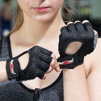 20180323085012915健身手套运动男女耐磨透气防滑护腕哑铃器械训练半指单杠房