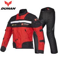 摩托车骑行服套装男女四季赛机车夹克个性保暖风防摔衣