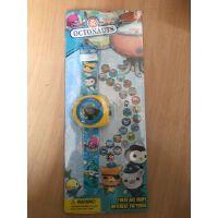 小猪佩琪玩具手表狗狗队电子表佩奇玩具 儿童卡通24图3D投影手表
