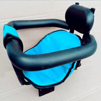 前置带宝宝自行车通用座椅山地自行车儿童座椅双支撑婴儿座椅 +坐垫