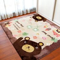 卡通地毯卧室儿童爬行垫客厅茶几毯房间家用可机洗床前床边毯