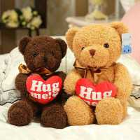 泰迪熊毛�q玩具抱抱小熊熊包公仔大熊布娃娃玩偶�生日�Y物送女生