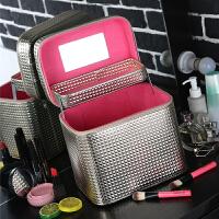 化妆包大容量多功能化妆箱手提简约便携小号可爱洗漱品收纳盒SN3205