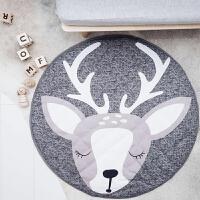 物有物语 宝宝爬行垫 北欧儿童房爬行垫 圣诞麋鹿同款纯棉游戏垫拍摄道具