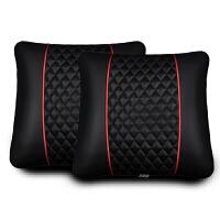 汽车腰靠垫腰枕靠背腰垫护腰车用座椅靠枕抱枕四季头枕腰靠套装.