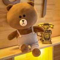 布朗熊公仔可妮兔毛绒玩具熊抱枕萌布娃娃女生玩偶大号生日礼物女