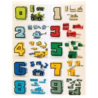 数字变形玩具金刚合体益智机器人男孩全套儿童3-5字母6岁百变战队