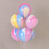 V02彩云云彩汽球 10寸乳胶气球 结婚庆用品装饰 生日派对创意婚房 抖音
