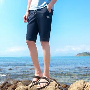 夏天运动短裤男 五分裤休闲短裤潮流韩版裤子男士沙滩裤夏季宽松