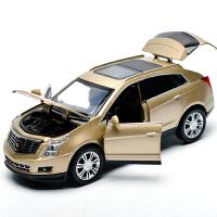 宝马奔驰越野车合金车模儿童玩具仿真汽车模型1:32声光回力小汽车