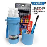 旅行分装瓶洗漱杯套装洗发水浴空瓶套装便携牙刷盒出差旅游用品