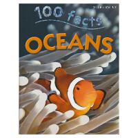 100 Facts Oceans 100个事实 海洋之谜 儿童科普英语读物 英文原版进口图书