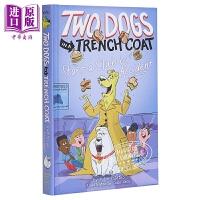 【中商原版】Two Dogs in a Trench Coat #2:Start a Club by Accident