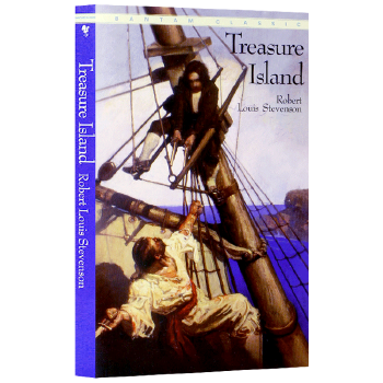 金银岛英文版原版 TREASURE ISLAND 海盗主题世界名著小说书 英文原版原著 正版进口英语书籍 轻巧便携 环保纸印刷 原版进口 史蒂文森