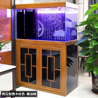 【品牌热卖】鱼缸客厅小型水族箱家用懒人免换水底滤中大型长方形鱼缸玻璃