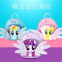 小马宝莉新款儿童双肩包 翅膀包 小女孩可爱时尚包包