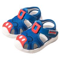 男宝宝学步鞋夏季软底婴儿凉鞋男童家居防滑女童童鞋