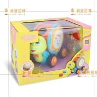 手拍鼓婴儿玩具拍拍鼓电动音乐宝宝玩具早教0-1岁儿童6-12月 33301--小乌龟音乐手拍鼓