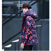 冬季羽绒服男韩版迷彩羽绒服短款冬装加厚青年外套潮流
