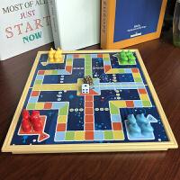 立体飞行棋磁性折叠棋盘儿童家庭亲子生日礼物游戏棋