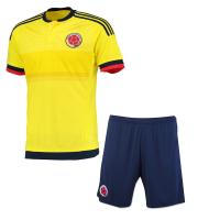 世预赛16-17哥伦比亚美洲杯主客场套装法尔考詹姆斯球衣