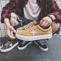 阿迪达斯支撑 秋季板鞋男透气休闲鞋英伦低帮真皮韩版潮鞋简约百搭学生潮流男鞋