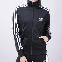 Adidas阿迪达斯 三叶草 女子 运动外套 休闲立领夹克 BK5926