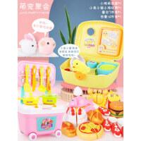 仿真孵化小鸡玩具萌宠屋生蛋电动模型会叫小兔子毛绒过家家动物猪