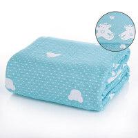 纱布毛巾被纯棉单人双人毛巾毯纱布夏凉被夏季沙发毯空调毯