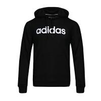 Adidas/阿迪达斯男卫衣 2018新款NEO运动休闲防风连帽套头衫 DM4254