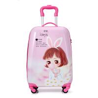 儿童拉杆箱卡通旅行箱万向轮16寸18寸旅行箱宝宝行李箱19 18寸 时光