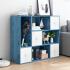 【爆款】书架简易桌上置物架简约现代学生用宿舍书柜收纳办公书桌面小书架