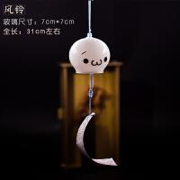 日式樱花玻璃风铃装饰品透明生日礼物创意女生卧室古风小清新日本