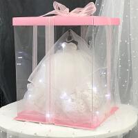 送给哥哥嫂子的新婚礼物生日女生结婚送姐姐大气新人闺蜜成年礼18岁女实用 粉色盖子粉色底部+项链+LED +礼品袋