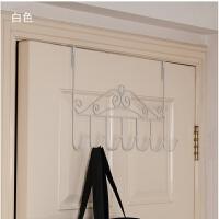 卧室门后衣架挂钩 门后挂钩挂门上挂衣架卧室小多功能家用 衣服架子房间衣架子 1个