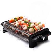 韩式铁板烧烤盘烧烤机煎烤两用商用无烟烤肉机双层电烧烤炉家用烤炉